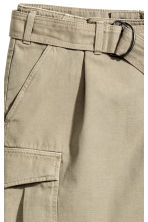 Cargo skirt - Khaki - Ladies | H&M CN 3