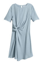 Crêpe dress - Blue-grey - Ladies | H&M CA 2