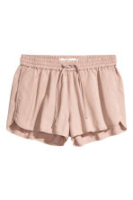 Lyocell shorts - Powder pink - Ladies | H&M CN 2