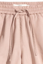 Lyocell shorts - Powder pink - Ladies | H&M CN 3