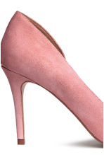 Suede court shoes - Powder pink - Ladies | H&M 4