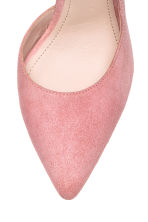 Suede court shoes - Powder pink - Ladies | H&M 3