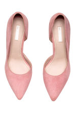 Suede court shoes - Powder pink - Ladies | H&M 2