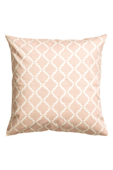 Cotton twill cushion cover - Light pink - Home All | H&M CN 1
