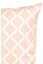 Cotton twill cushion cover - Light pink - Home All | H&M CN 2