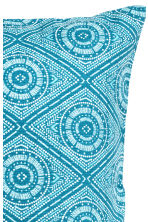 Patterned cushion cover - Turquoise - Home All | H&M CN 3