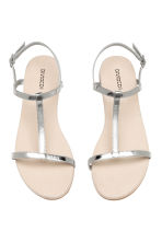 Sandals - Silver - Ladies | H&M 2