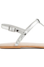 Sandals - Silver - Ladies | H&M 4
