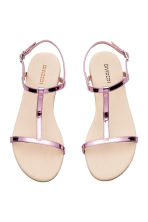 Sandals - Pink/Metallic - Ladies | H&M 2