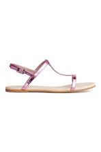 Sandals - Pink/Metallic - Ladies | H&M 1
