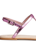 Sandals - Pink/Metallic - Ladies | H&M 4