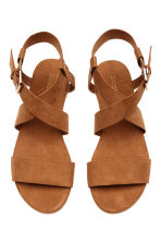 Sandals - Camel - Ladies | H&M CN 2