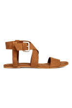 Sandals - Camel - Ladies | H&M CN 1