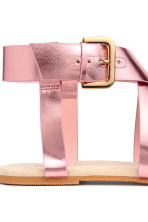 Sandals - Pink/Metallic - Ladies | H&M 3