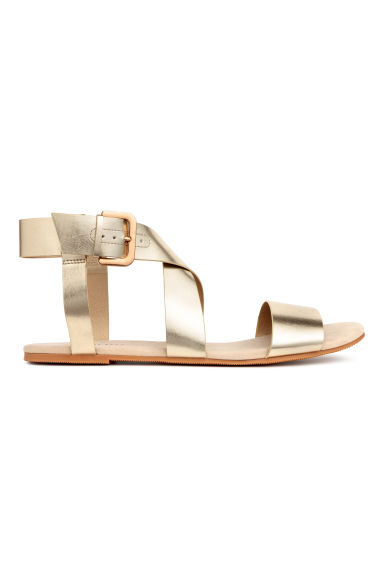 Sandals - Gold - Ladies | H&M CN 1