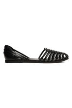 Braided shoes - Black - Ladies | H&M CN 1