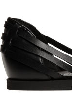 Braided shoes - Black - Ladies | H&M CN 3