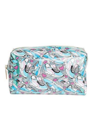 Transparent make-up bag - Turquoise - Ladies | H&M CN 1