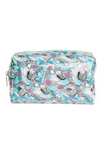 Transparent make-up bag - Turquoise - Ladies | H&M 1