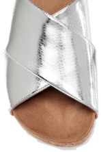 Mules - Silver - Ladies | H&M CN 4