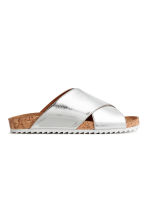 Sandali slip-on - Argentato - DONNA | H&M IT 2