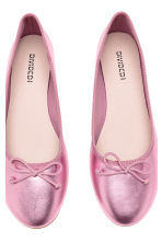Ballet pumps - Pink/Metallic - Ladies | H&M 4