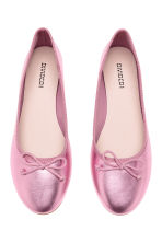 Ballet pumps - Pink/Metallic - Ladies | H&M 2