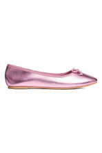 Ballet pumps - Pink/Metallic - Ladies | H&M 1