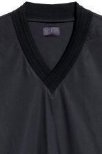 Cotton-weave T-shirt - Black - Men | H&M 4