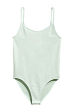 Jersey body - Mint green - Ladies | H&M 2