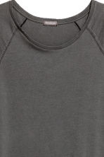 Slub jersey T-shirt - Black washed out -  | H&M CN 3