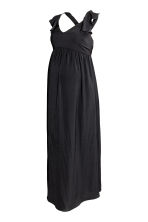 MAMA Long dress - Black -  | H&M CA 2