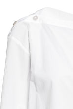 Cotton blouse - White - Ladies | H&M 4