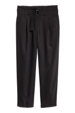 Wide trousers - Black - Ladies | H&M 2