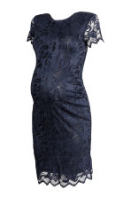 MAMA Lace dress - Dark blue -  | H&M 2