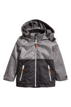 Outdoor jacket - Dark grey marl -  | H&M 2