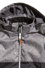 Outdoor jacket - Dark grey marl -  | H&M 4