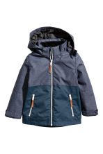 Outdoor jacket - Dark blue marl - Kids | H&M 2