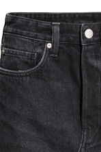 Short denim skirt - Black denim - Ladies | H&M 3