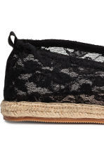 Espadrilles - Black - Ladies | H&M 4