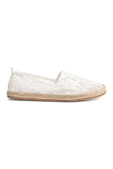 Espadrilles - White - Ladies | H&M 1