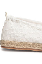 Espadrilles - White - Ladies | H&M 4