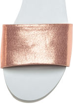 Slides - Rose gold - Ladies | H&M CN 3