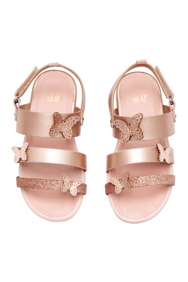 Butterfly sandals - Rose gold - Kids | H&M 1