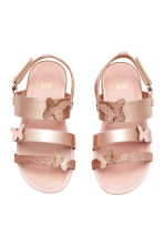 Butterfly sandals - Rose gold - Kids | H&M CN 1