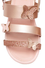 Butterfly sandals - Rose gold - Kids | H&M CN 3