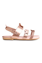 Butterfly sandals - Rose gold - Kids | H&M CN 2