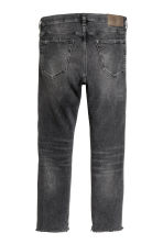 Relaxed Skinny Cropped Jeans - Nero Washed out - UOMO | H&M IT 3