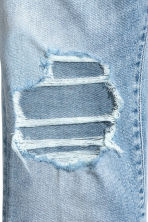 Relaxed Skinny Cropped Jeans - Bleu denim clair - HOMME | H&M FR 4