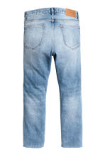 Relaxed Skinny Cropped Jeans - Light denim blue - Men | H&M IE 3